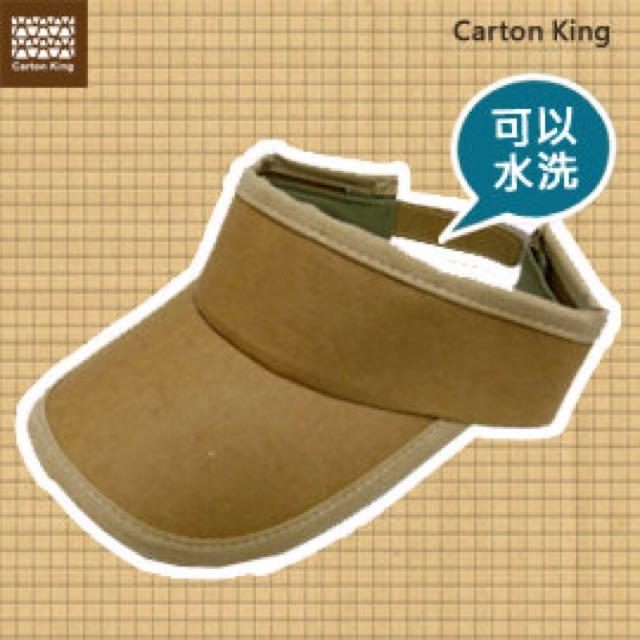 紙箱王遮陽帽(全新-可重複水洗)