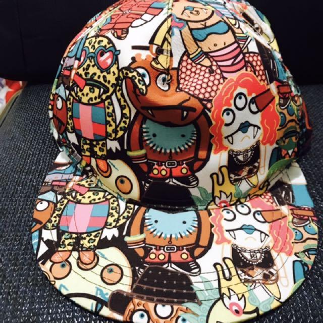 塗鴉式棒球帽