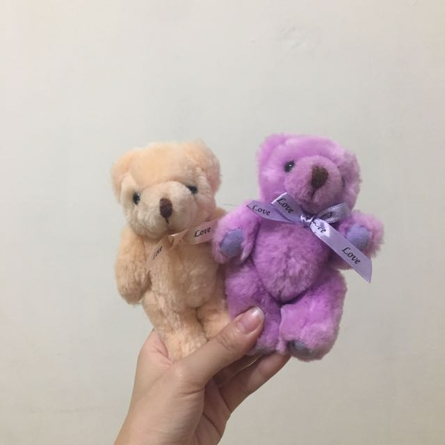泰迪熊娃娃 一對