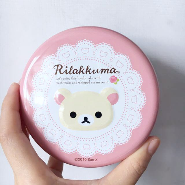 日本 可愛拉拉熊鐵盒 Rilakkuma box #交換最划算