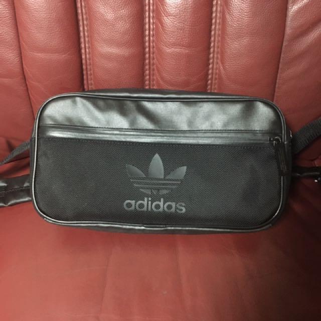 Adidas 防水 腰包