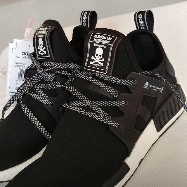 detailed look f5741 a963c Adidas Nmd Mastermind Black