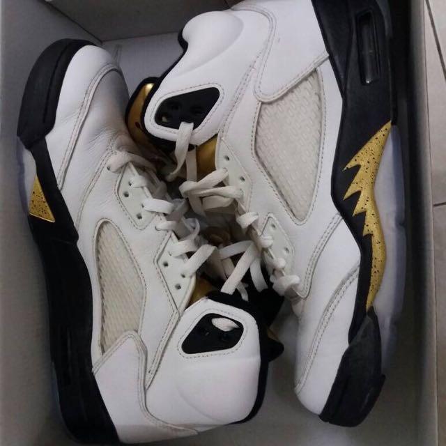 e8e32a69e88 Air Jordan 5 Retro (OLYMPIC GOLD) free pos, Men's Fashion, Footwear ...