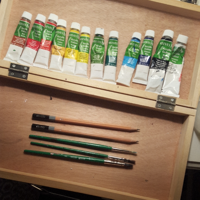 AMATEUR PAINT SET (ACRYLIC)