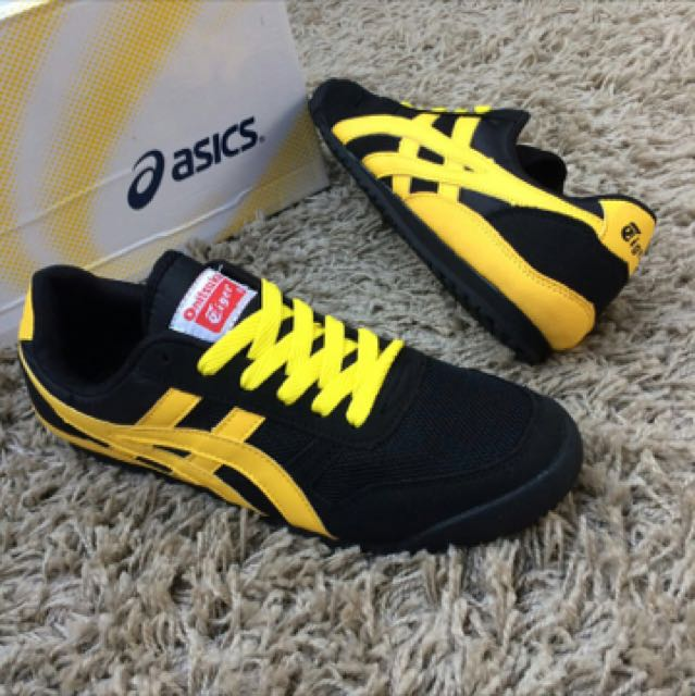 the best attitude ec428 44b4e Asics Onitsuka Tiger Black Yellow