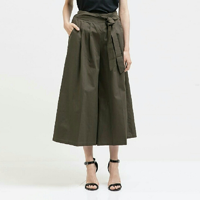 ats the label wide pants