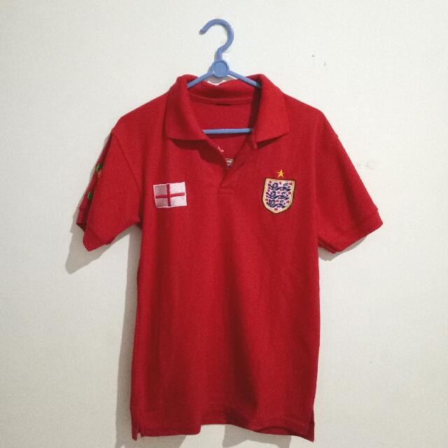 Baju Bola Inggris Wanita