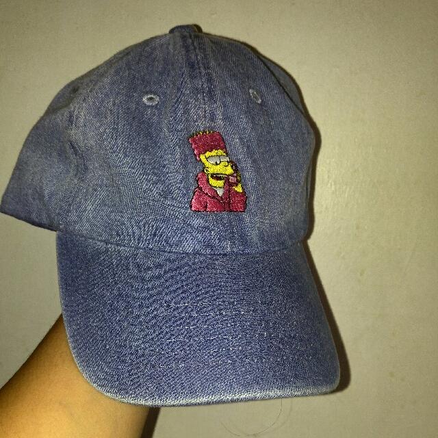 Bart Simpson Jean Baseball Cap