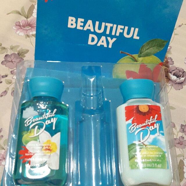 (Bath & Body Works) Shower Gel and Body Lotion