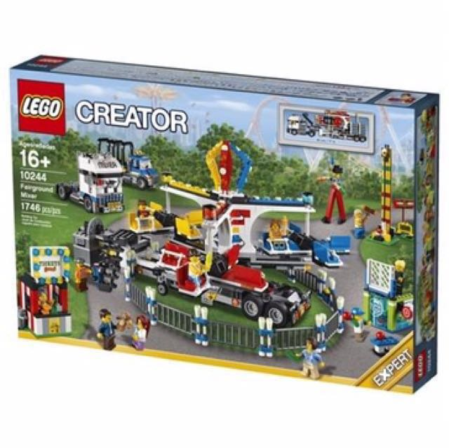 Bn Lego Creator Expert Fairground Mixer 10244 Box Set Everything