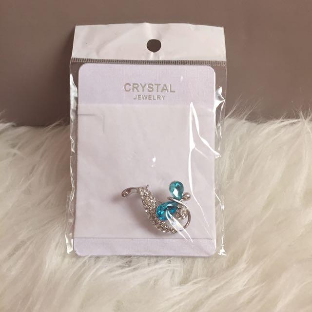 Brand New Crystal Pin