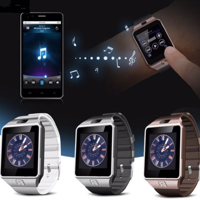 Brand New Smart Watch DigitalWrist with Men Women Bluetooth Electronics SIM Card Sport Smartwatch camera For iPhone Android Phone Watch