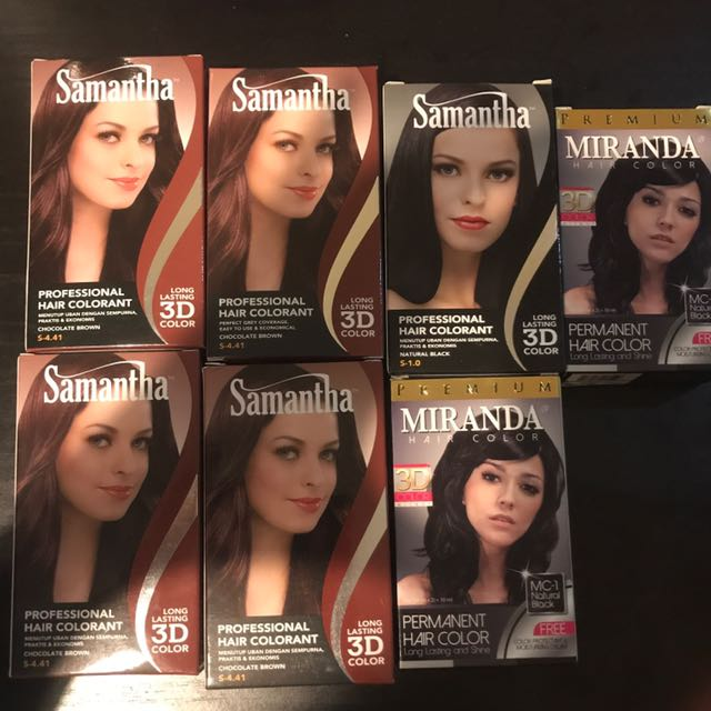 Bundle Samantha & Miranda Hair Collorant