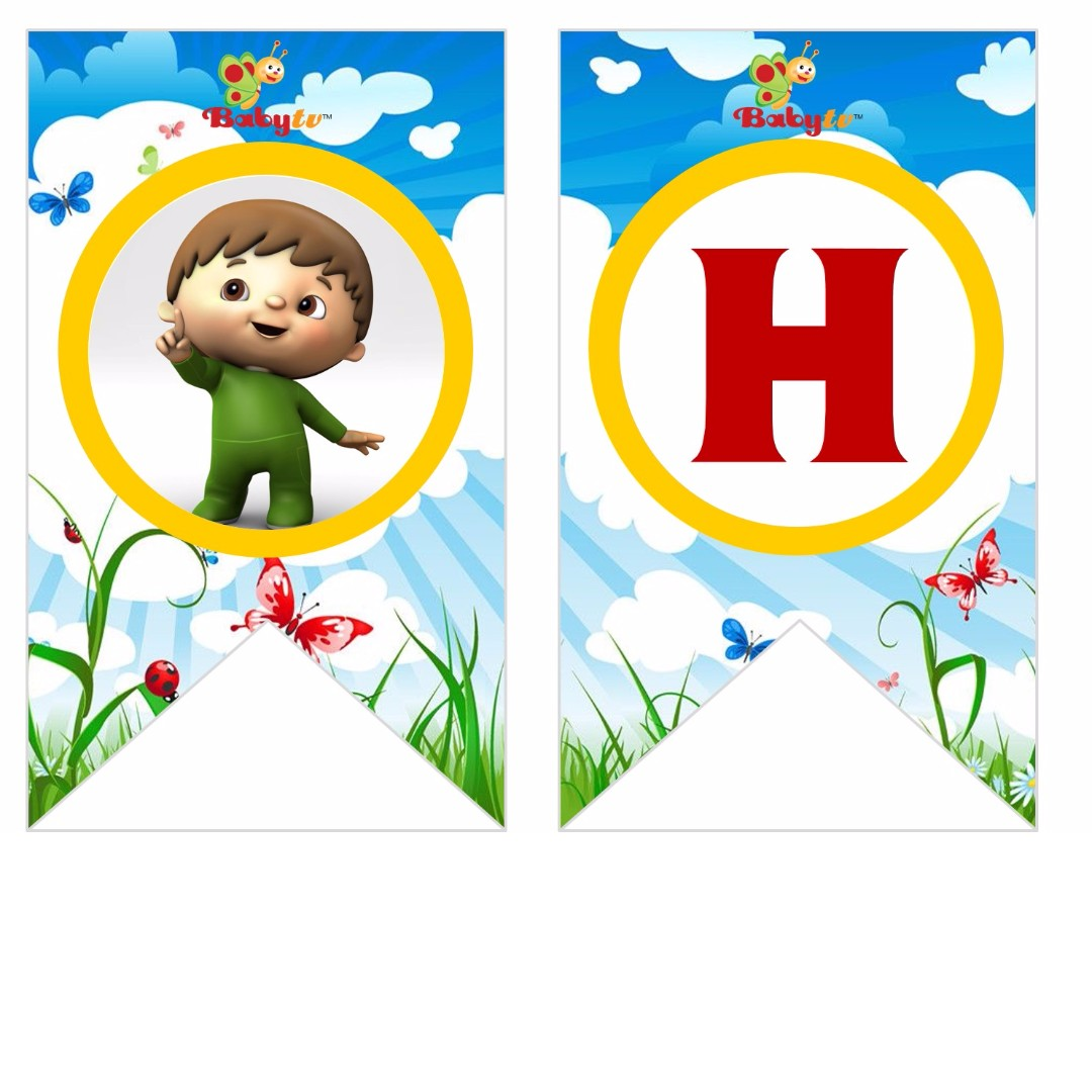Bunting Banner - Baby TV