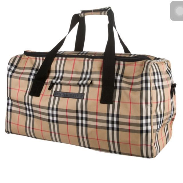 Burberry Duffle Bag, Luxury, Bags   Wallets on Carousell f37ffcf0c3