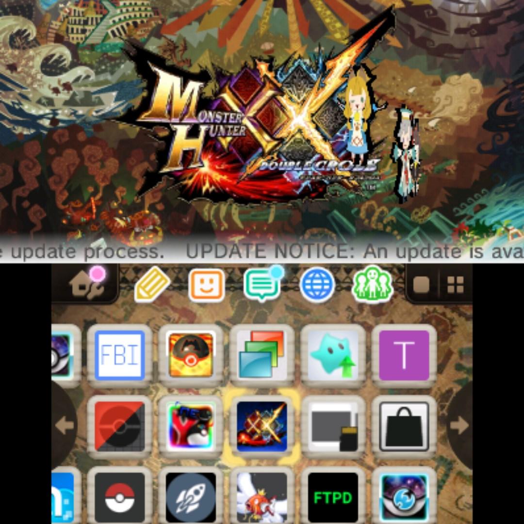 Luma 3ds Update Qr Code