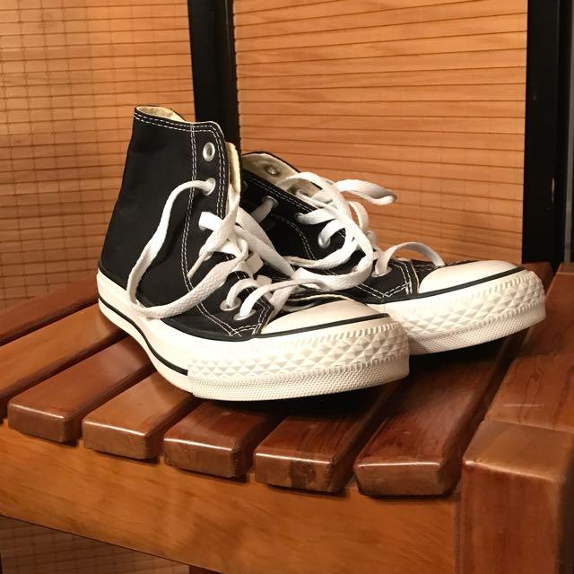 Converse Black Allstar High Top Sneakers