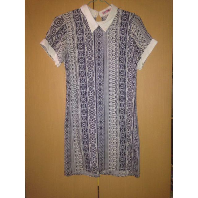 Dress Batik Tribal