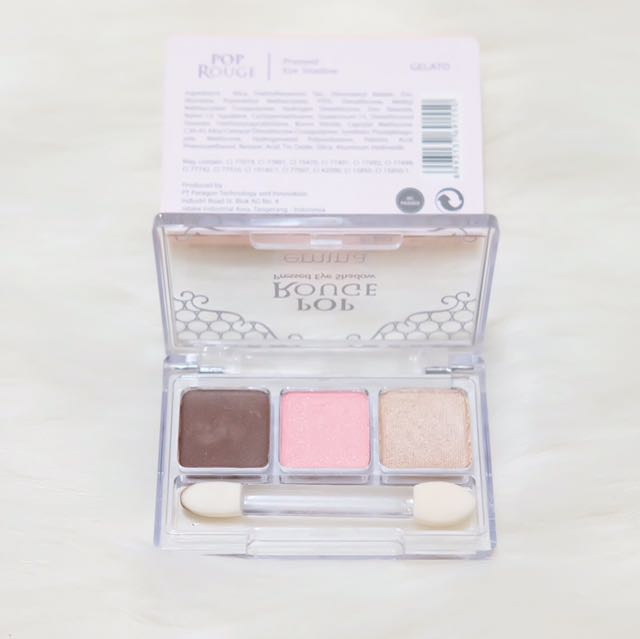 EMINA POP ROUGE PRESSED EYESHADOW 'Gelato'