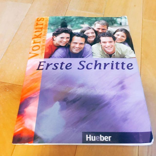 Erste Schritte德文初階教學課本Hueber 附CD ISBN9783190016860