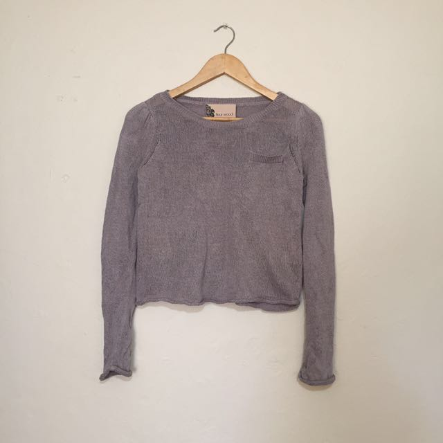 Fleur Wood - Knit Sweater