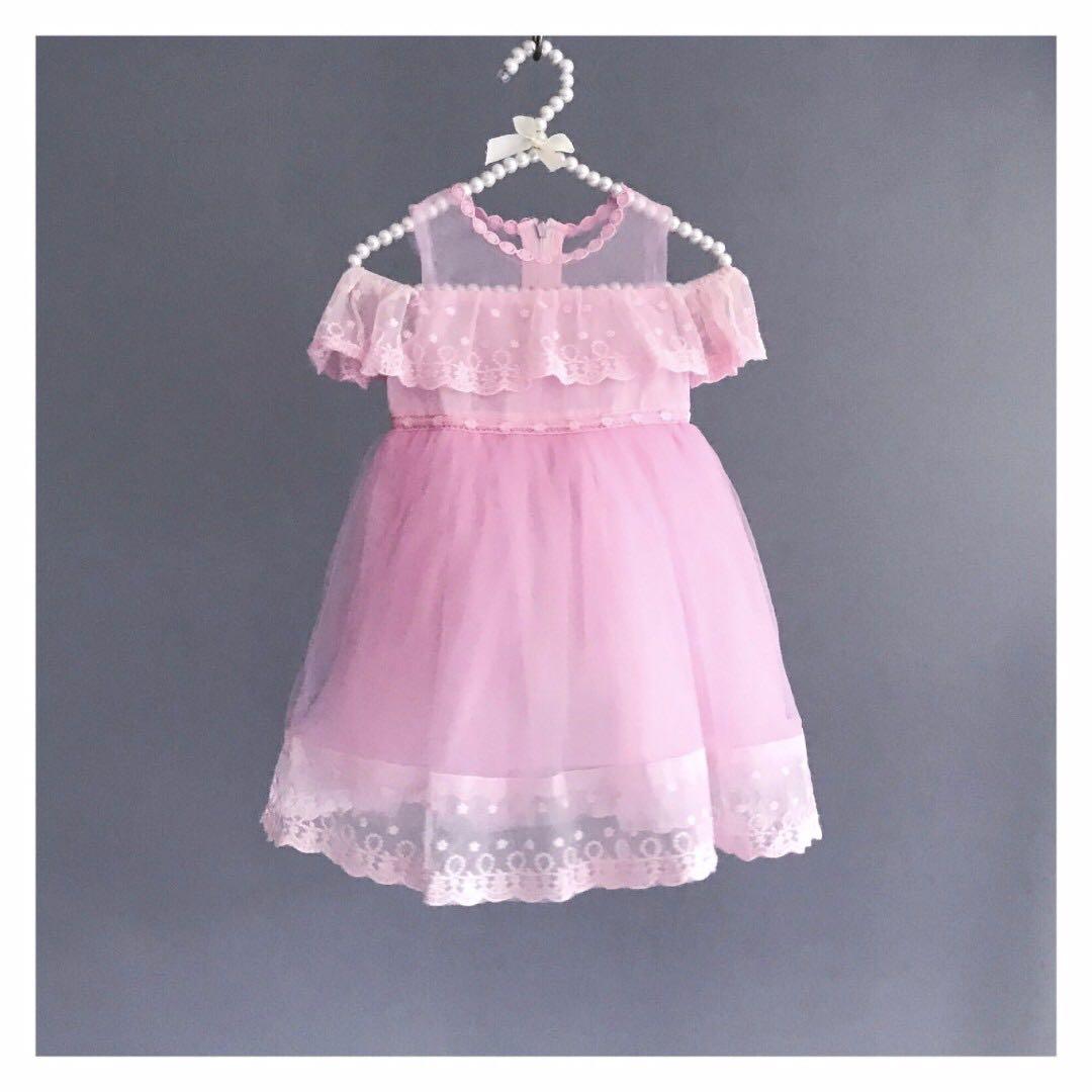 Frida Off Shoulder Dress/ Pink/ Birthday Dress/ Formal Dress/ Gown ...