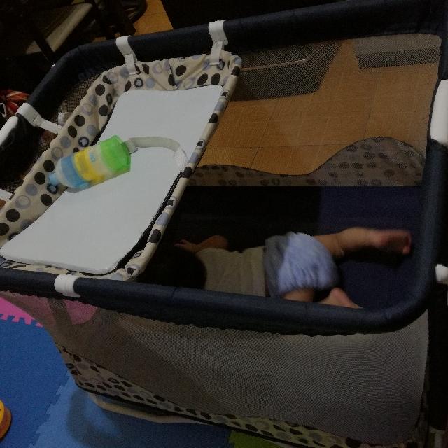 Giant Carrier Crib Blue