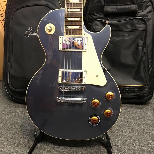Gibson Les Paul Standard Blue Mist 2012