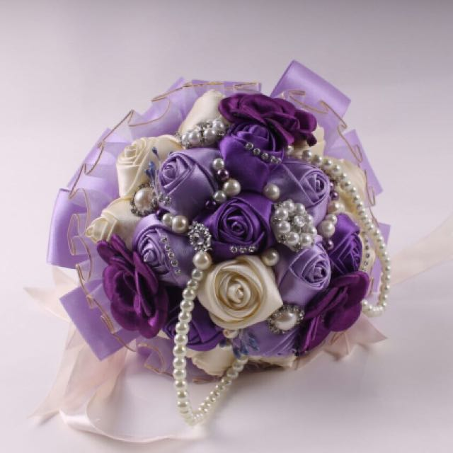 Hand Flowers Wedding