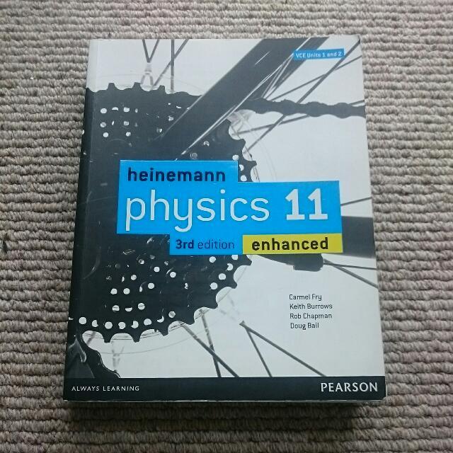 Heinemann Physics 11 3rd Edition Enhanced