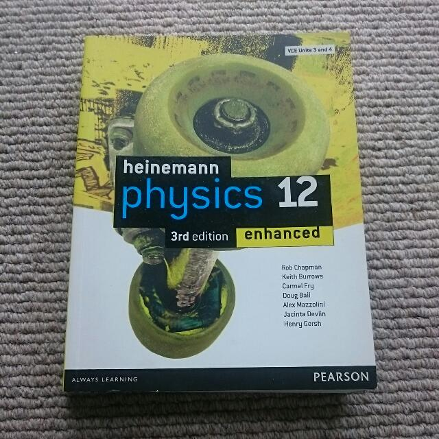 Heinemann Physics 12 3rd Edition Enhanced