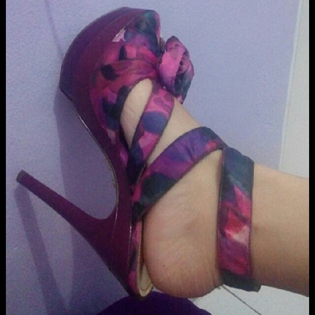 High heels import us size 8,5 / 40
