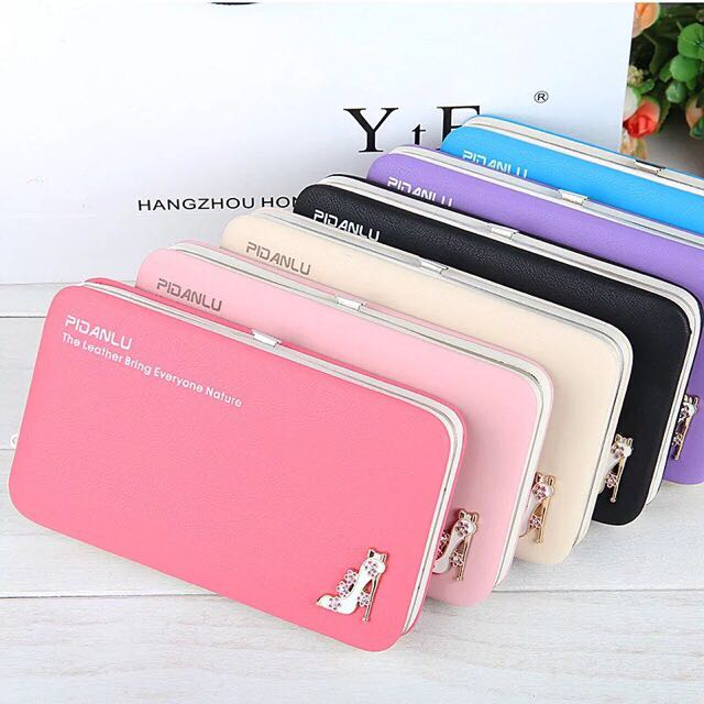 🔥HOT SELLING🔥READY STOCK- QUALITY LADY PHONE WALLET ZIP PURSE