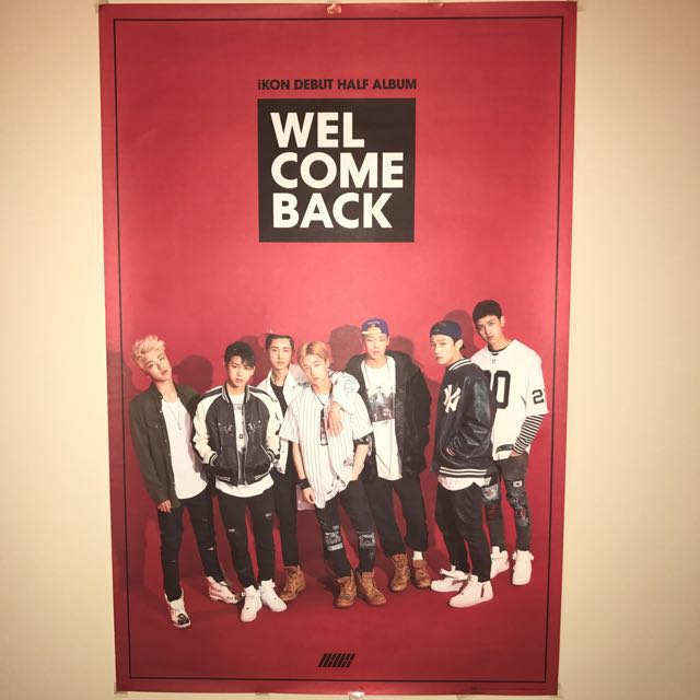 IKON Welcome Back Half Album