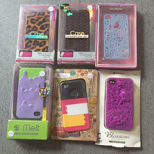 iPhone 4/4S Case (paket 3 cases bebas pilih)