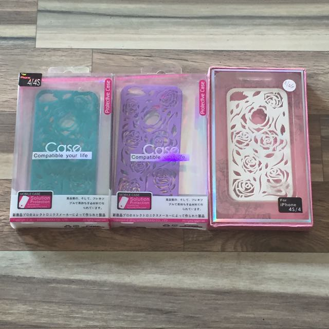 iPhone 4/4S Case (Paket isi 3)
