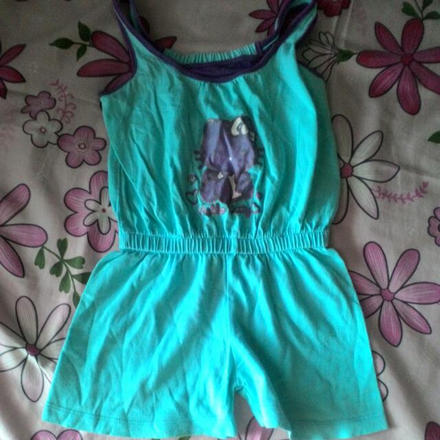 Jumpsuit Hello Kitty Biru
