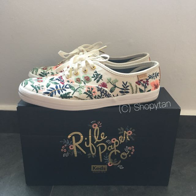 b925c8c27f8 Keds X Rifle Paper Co Champion Herb Garden