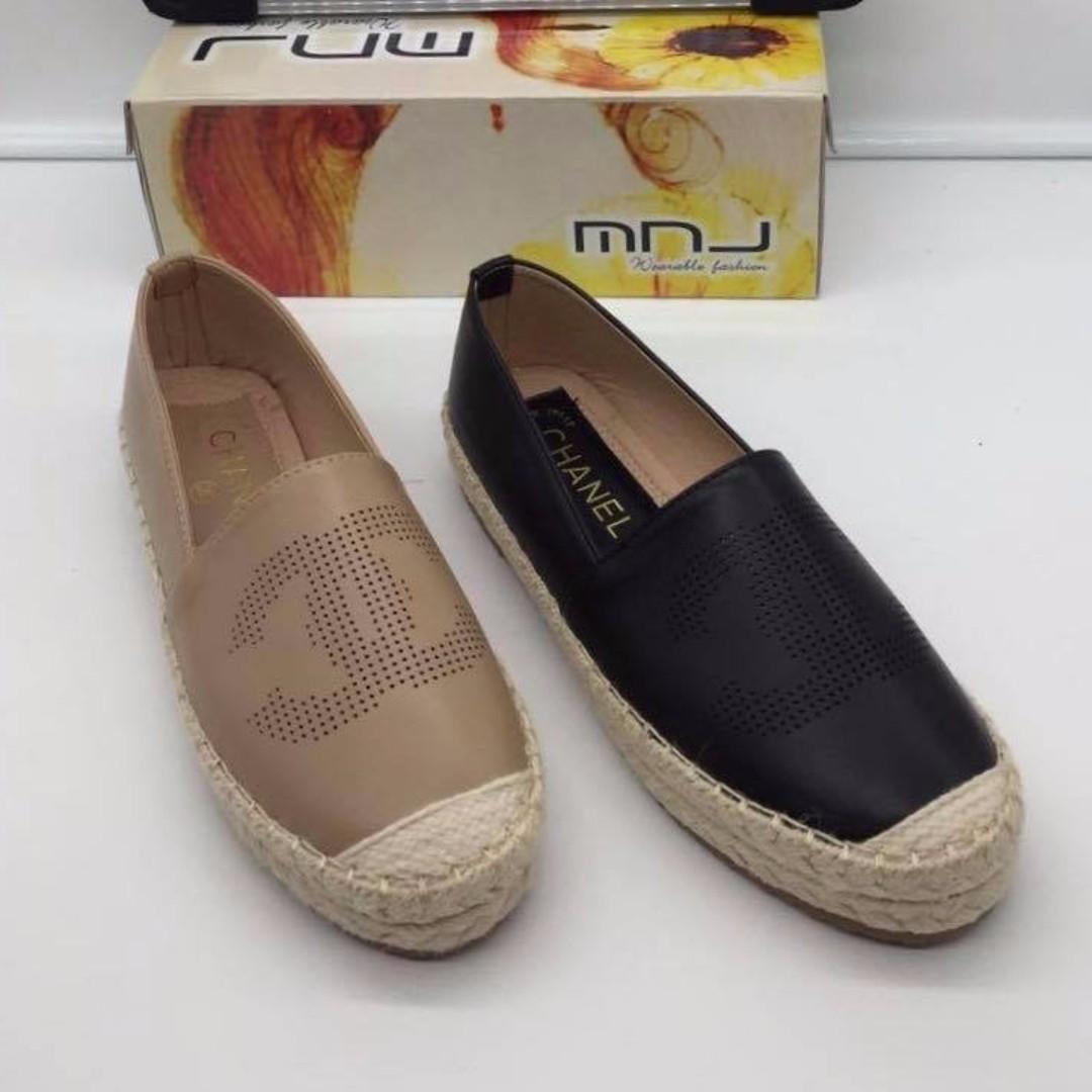 Korea fashion Espadrille shoes