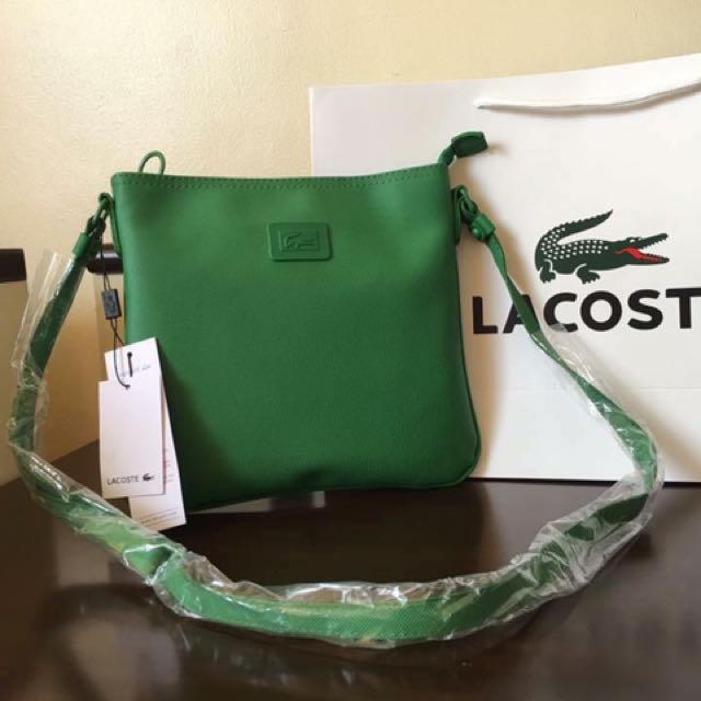 lacoste sling bags