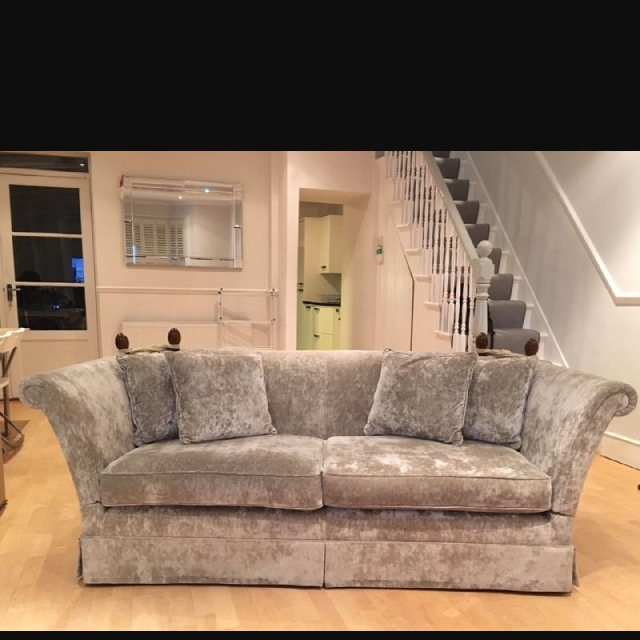 Laura Ashley 4 seater langham sofa couch, Home & Furniture ...