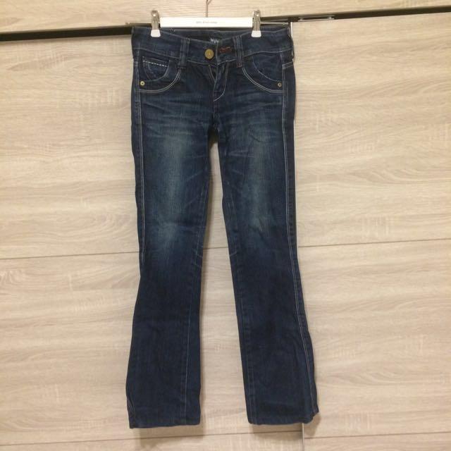 LEVI'S26腰日本製超顯瘦彈性牛仔褲