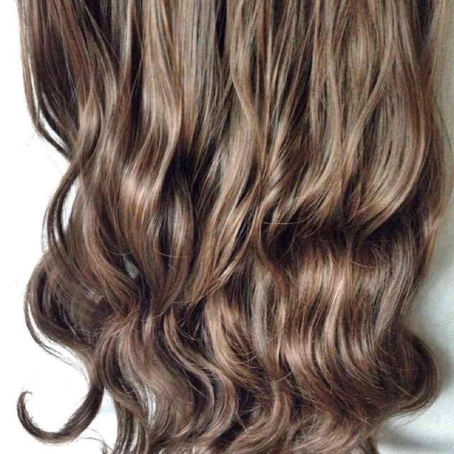 Light Brown Wavy Hair Extension