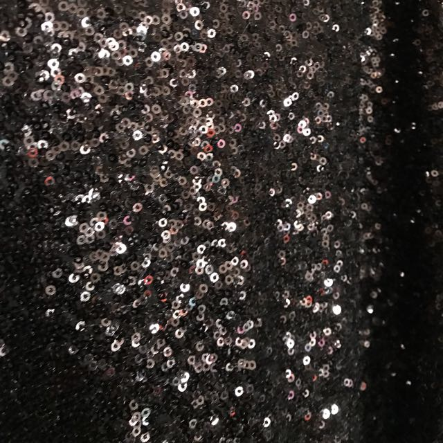 Little Black Sparkley Dress