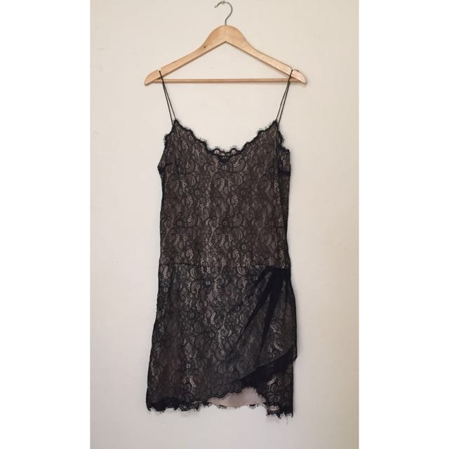 Little Joe - Black Lace Dress