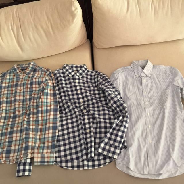 Long sleeves Polo bundle Sale! (Small size)