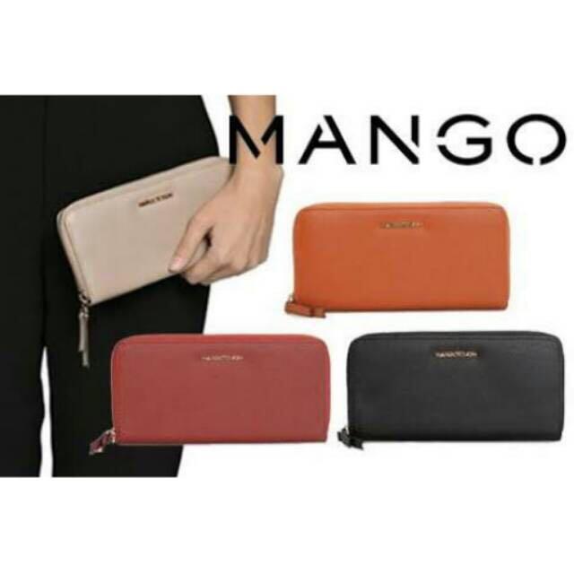 Mango saffiano wallet