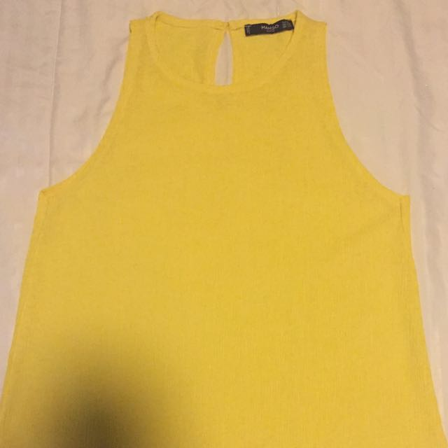 Mango Sleeveless Top