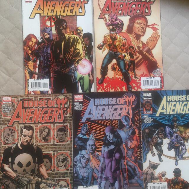 Marvel And DC Comics Tpb