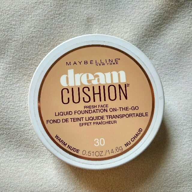 Maybelline Dream Cushion Foundation (30 Warm Nude)